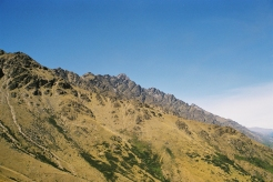 The Remarkables, part of the ridge of Mordor