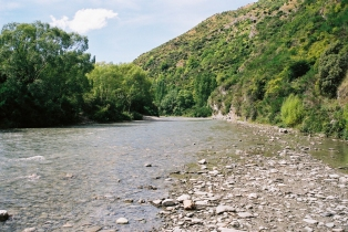 River near Arrowtown, where Arwen was chased by Nazgul