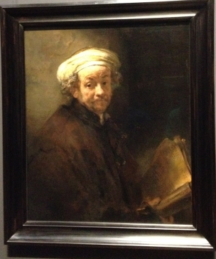 Selfportrait by Rembrandt